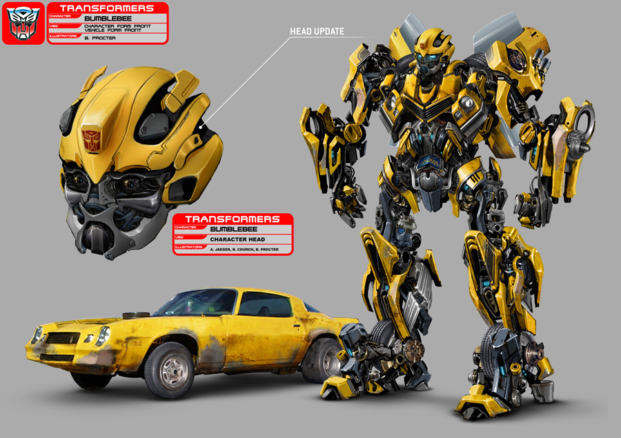 Cars from the movie transformers